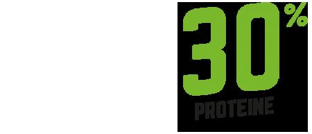 30 percento di proteine